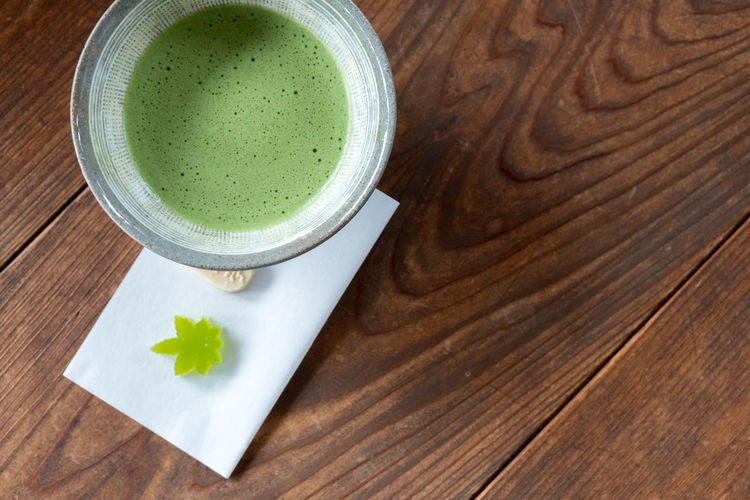 Green Color Japan Japan Photography Japanese Culture Japanese Style Close-up Drink Food And Drink Freshness Green Color Green Tea Greentea Healthy Eating High Angle View Indoors  Latte Matcha Tea No People Ready-to-eat Studio Shot Tea - Hot Drink Tea Ceremony Wood - Material Wood Grain