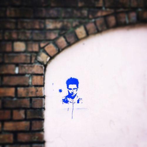 Fight Club Street Art Vikki Bradley O'Keefe Art