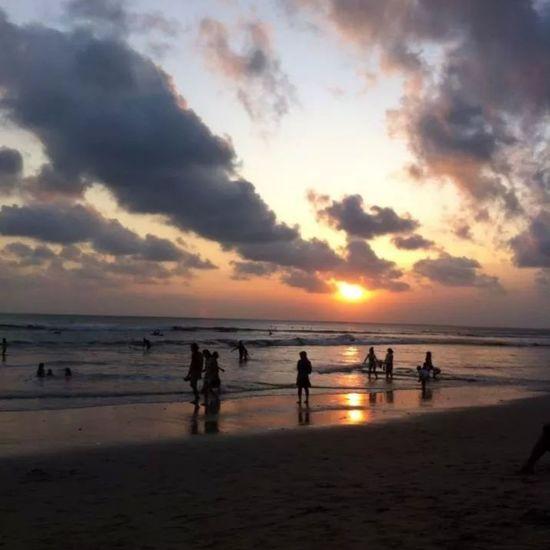 Pantai Bira Atmosphere Beauty In Nature Cloud Horizon Over Water Outdoors Sea Sky Water