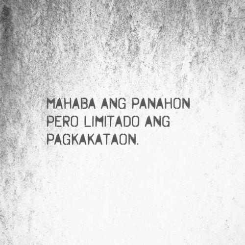Qoutes Tagalog