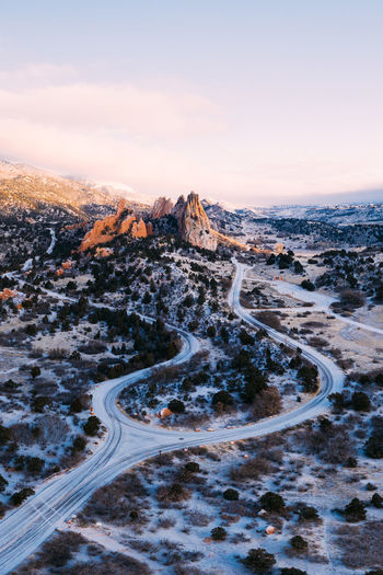 U Colorado Aerial View Dji Drone  Adventure Cold Temperature Exploring Road Trip Light And Shadow Sunrise Snow Mountain Cold Temperature Winter Sunset Snowing Tree Snowcapped Mountain Sky Landscape Frost Weather Condition Empty Road Frozen Capture Tomorrow 17.62°