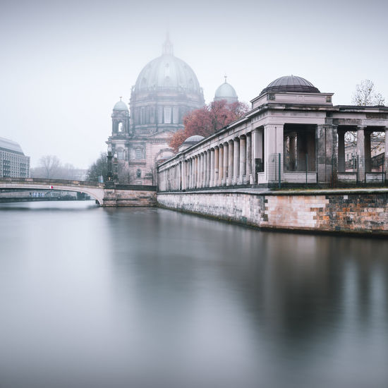Misty Morning at Berliner Dom Architecture Autumn Colors Autumn In Berlin Autumn In The City Berlin Cathedral Berlin Mitte Berliner Dom Building Exterior Built_Structure City Day Dome Fineart International Landmark Longexposure Museumsinsel No People Outdoors Philipp Dase Reflection Sightseeing Berlin Sky Spree River Berlin Travel Destinations Discover Berlin