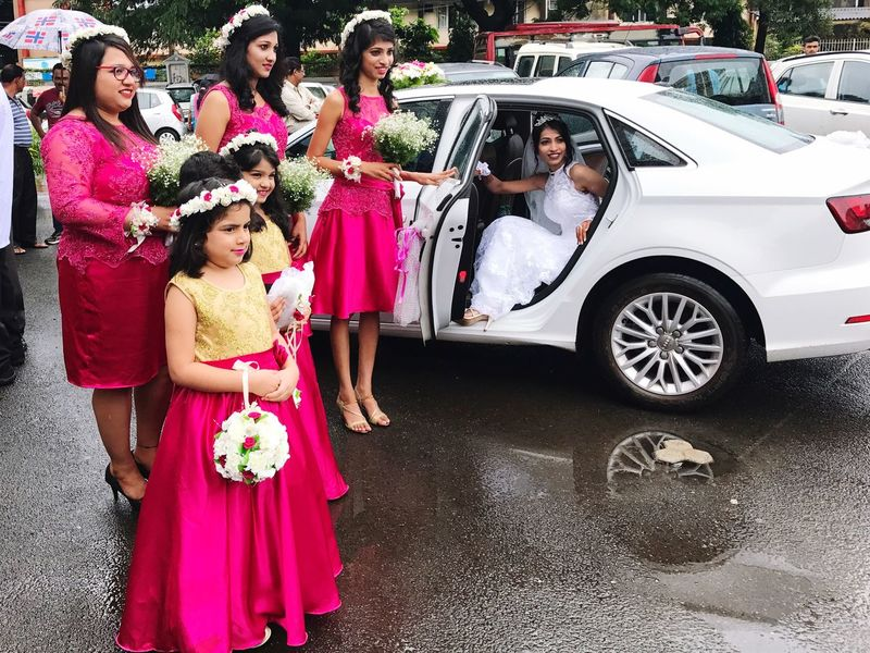 Bride and her maidens Indian Christian Matrimony Best  Mangaluru