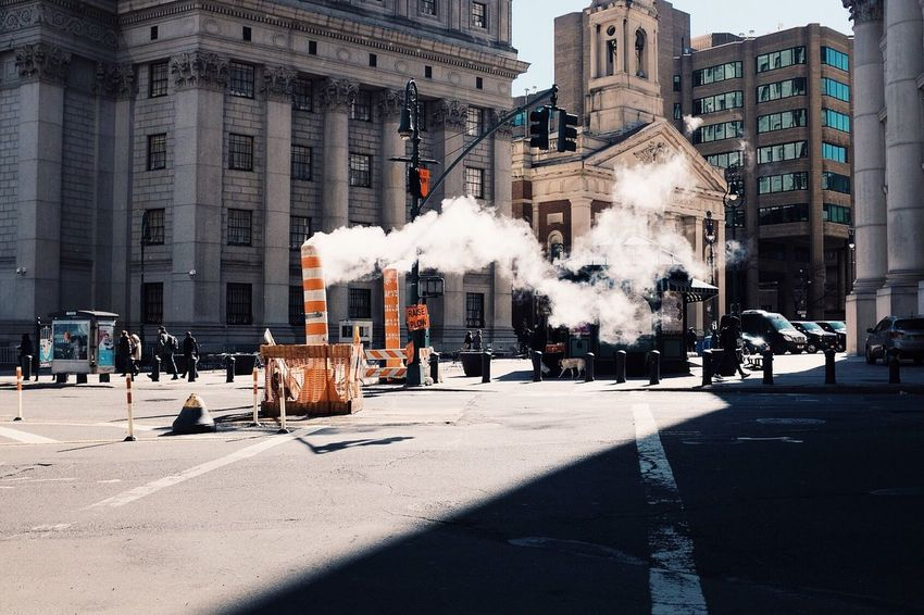 Smoke Steam New York Urban Orange By Motorola Capture The Moment