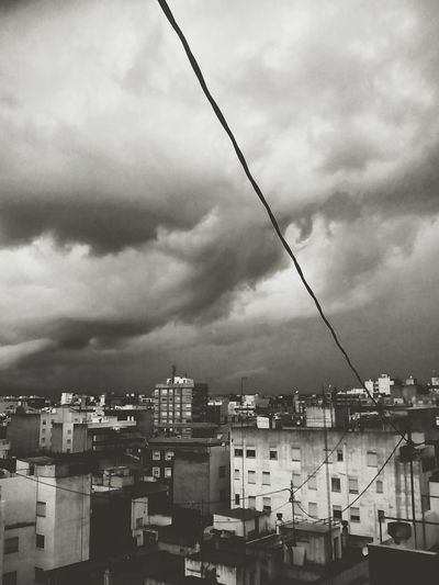 Storm Clouds Taking Photos Urbanphotography Cityscape Black & White Monochrome Reining Enyoing The View  Simple Moment