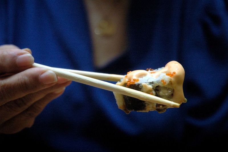Eyeem Philippines Eyeem Philippines Album Chopsticks Close-up Eating Utensil Finger Focus On Foreground Food Food And Drink Freshness Hand Holding Human Body Part Human Hand Indoors  Japanese Food Kitchen Utensil Midsection One Person Pasta Ready-to-eat Real People Spoon Temptation Unrecognizable Person