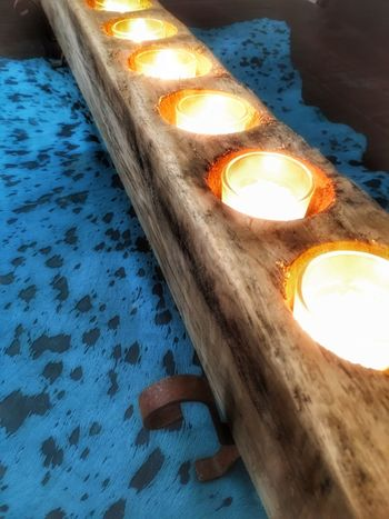 Woodensugarmold Mine Cowhide Turquoisecowhide Turquoise Candles Table Mytable Litcandles Soft Glow Softglow 43 Golden Moments