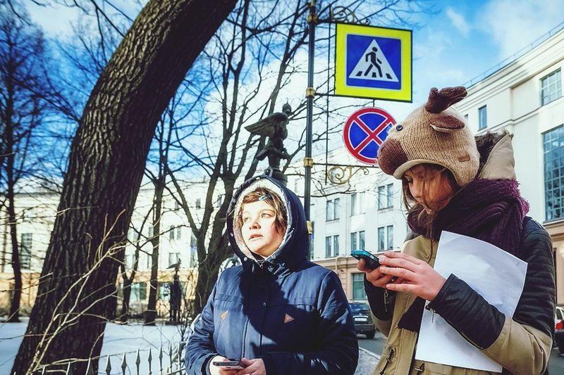 Winter Saint-Petersburg White It's Me Winter Trees