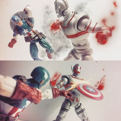 """Ultron - """"You know what's in that cratel?,the power to make real change and that terrifys you"""" Cap-""""I wouldn't exactly call it comfort"""" Marvellegends Ultron Articulatedcomicbook Actionfigures Ultronprime Actionfigurephotography ACBA Ageogultron Hasbro Avengers Disney Infiniteseries Captainamerica Mcu Marvel Steverodgers Nerd Comics Figurecollection Collection Collector Marvelselect Marvelentertainment Figures Theavengers toys4life tcb_flyupandaway toyslagram Toyphotography toycommunity"""