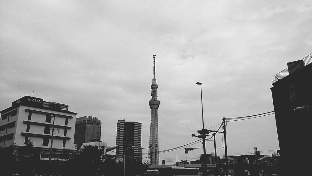 Taking Photos Blackandwhite Walking Around Tokyo