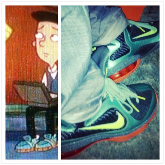 lol dude on Hey Arnold had on my Cannons