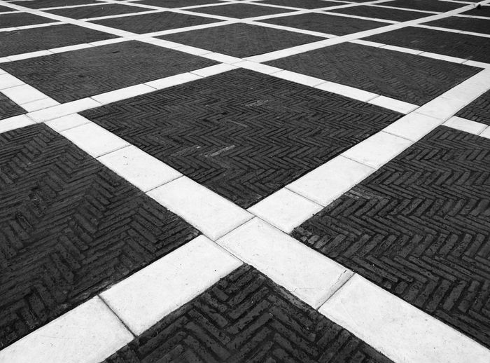 The X factor Abstract Design Flooring Geometry Pattern Pavement Paving Stone Street