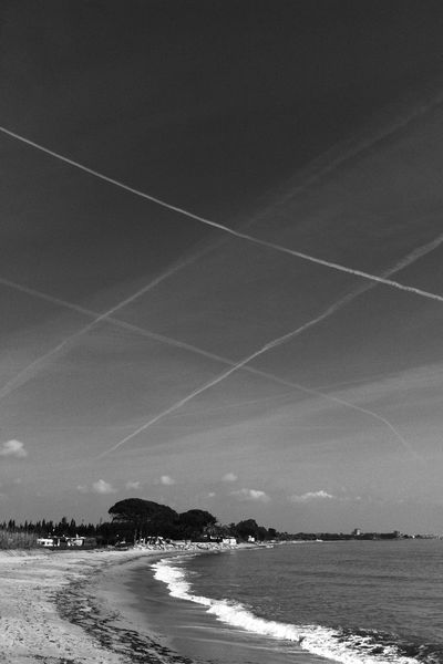 Hastag is in the Air Hashgram Blackandwhite Photography Blackandwhite Beach Photography