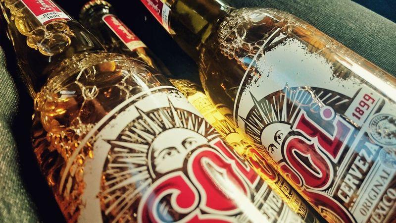 Beer Sol Summer Glorydays Macro Gold