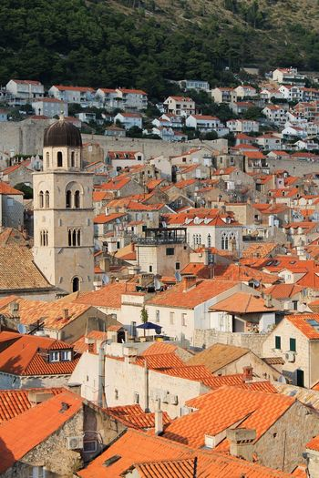 Dubrovnik Architecture Building Exterior Built Structure City Building Crowded High Angle View House Sunlight Outdoors Town Crowd