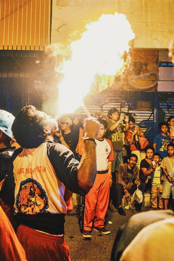 Fireshow Capgomeh Chinatown Bogor