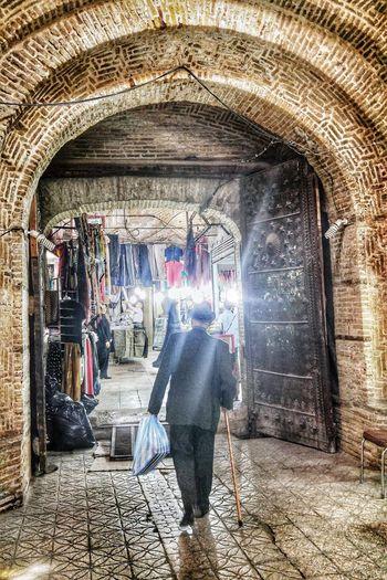 Iran Zanjan Street Photography Bazaar Man Mobartphotography Travel Mobail Photo Tourist LG G4