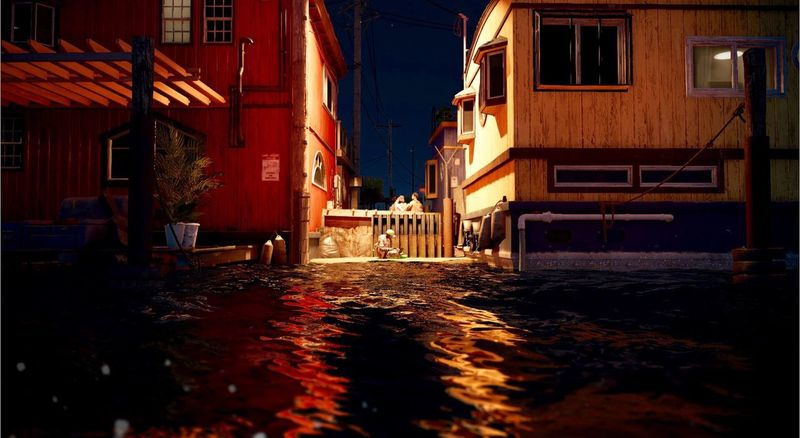 Water Built Structure Building Exterior Architecture City Outdoors No People Day San Francisco Beautiful Ubisoft Watch Dogs 2 PS4 My Character  Screenshot Sea +_+ GG