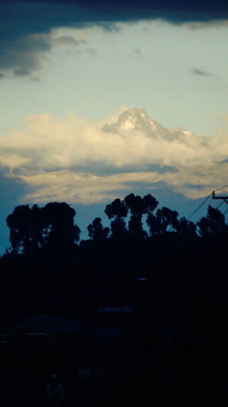 Mount Kenya, second tallest Mountain in Africa Beauty In Nature Cloud - Sky Dusk Environment Idyllic Land Landscape Mount Kenya Nature No People Non-urban Scene Outdoors Plant Scenics - Nature Silhouette Sky Sunset Tranquil Scene Tranquility Tree