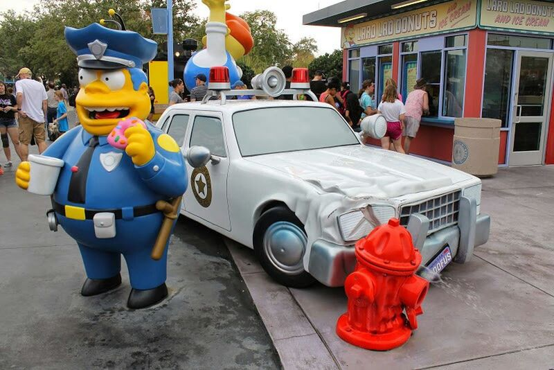The Simpsons Springfield Magic Kingdom Check This Out Disney
