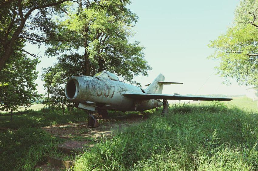 Old Plane Békéscsaba Canon M10 Plane Army War Abandoned Vintage Old Old Planes