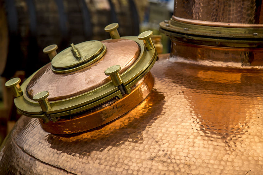 Destillery Production Alambic Alambique Alcohol Alcoholic Drink Cobre Old Wisky