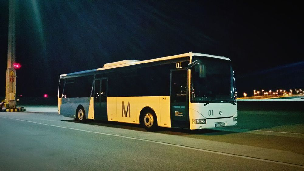 Starting A Trip Bus Airport Travelling On The Road Airport Bus Transportation Nightphotography Nightbus Nightshift