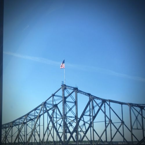 Happy 4th (Mississippi River Bridge) Enjoying Life First Eyeem Photo