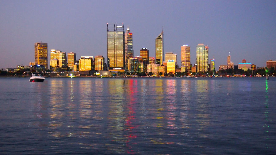 Perth golden skyline at sunset, Perth, Austraia Australia City Lights At Night Colourful Night Lights Night Photography Perth Perth Australia Perth Skyline Sightseeing Skyline Skyline At Night Travel Travel Photography Traveling Travelling Western Australia Architecture Australia & Travel Blue Building Exterior Built Structure City City Lights Cityscape Clear Sky Illuminated Modern Nature Night No People Outdoors Sea Sky Skyscraper Tourist Destination Travel Destinations Travelphotography Urban Skyline Water Waterfront