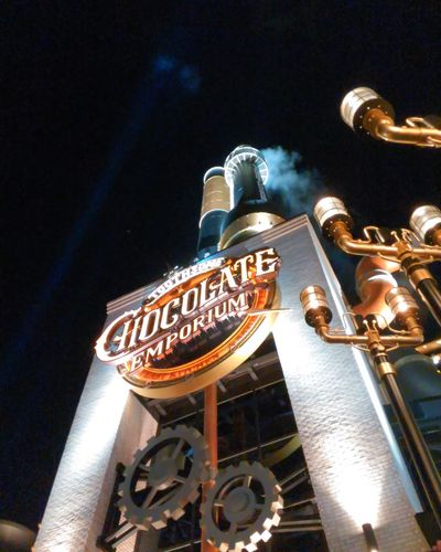 Chocolate emporium another point of view Night Travel Destinations Illuminated Nightlife Arts Culture And Entertainment City No People Outdoors Neon