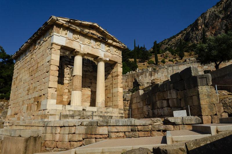 Arqueología Construction Delphi Delphia Griegos Grèce, Greece, Ruins Ancient Architecture Ancient Civilization Arqueology Built Structure Delfos Delphiaphoto Delphiashot Old Oraculoproject