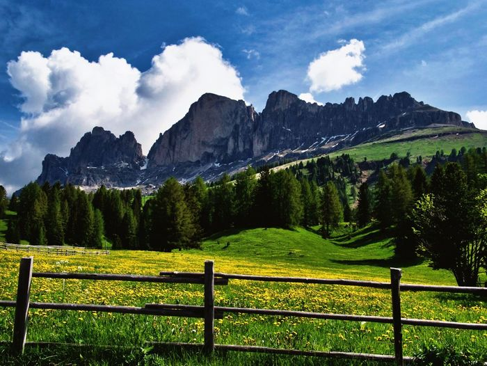 Mountain Love Mountain Sky Plant Barrier Mountain Fence Boundary Beauty In Nature Scenics - Nature Cloud - Sky Nature Landscape