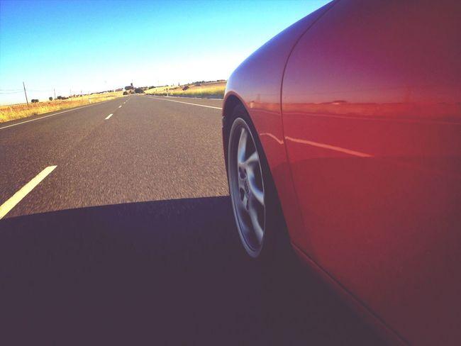 Porsche Porsche 911 Red Car Speed