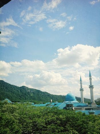 IIUM Mosque Cloud And Sky