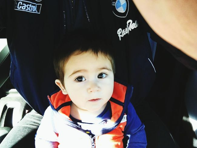 Fatherhood Moments Father & Son Like Father Like Son Father Love Baby Boy Baby Love  Big Eyes Big Eyes O.O Big Eyes Run In The Family C: Black Eyes Curious Eyes Trying New Things Naughty Boy Naughty By Nature Learning How To Drive :) My Bro