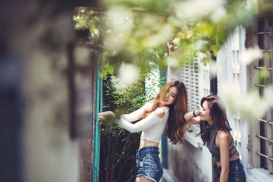 People Beautiful Taking Photos Girl Canon Photography Things I Like Vietnamese Asian  Popular Photos EyeEmBestPics Sexygirl Photobykooltran EyeEm Best Shots Koolstudio Besexy Beautiful Girl Lovely Garden Smallhouses House Countryside