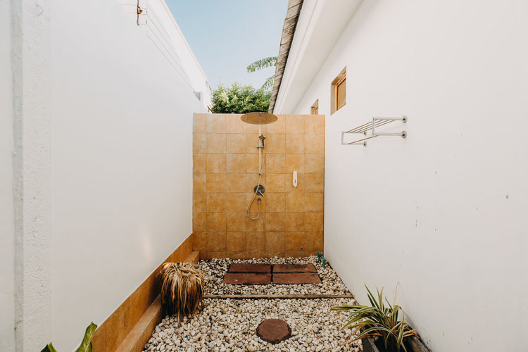 holiday huahin beach thailand Architecture Built Structure Building Building Exterior Wall - Building Feature Plant No People Door Potted Plant Day Entrance Nature House Wood - Material Outdoors Religion Belief Wall Residential District Spirituality Alley