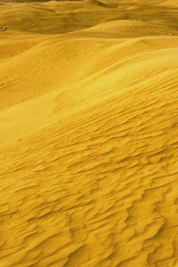 Full frame shot of sandy beach