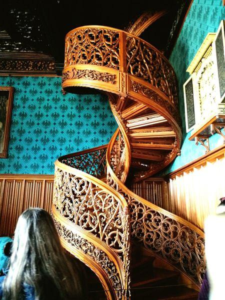 Czech Republic Stairs Valtice Castle Czech Castles