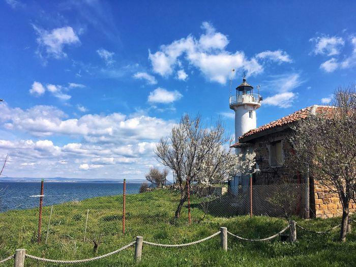Spring island Sky Nature Outdoors Seaside Island St. Anastasia Lighthouse Blacksea Burgas  Bulgaria