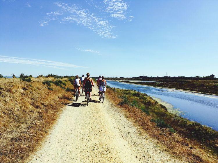 53km of riding on a bike Cycling Bike Bikeride Friends Holidays Island Tranquility Nature Noirmoutier