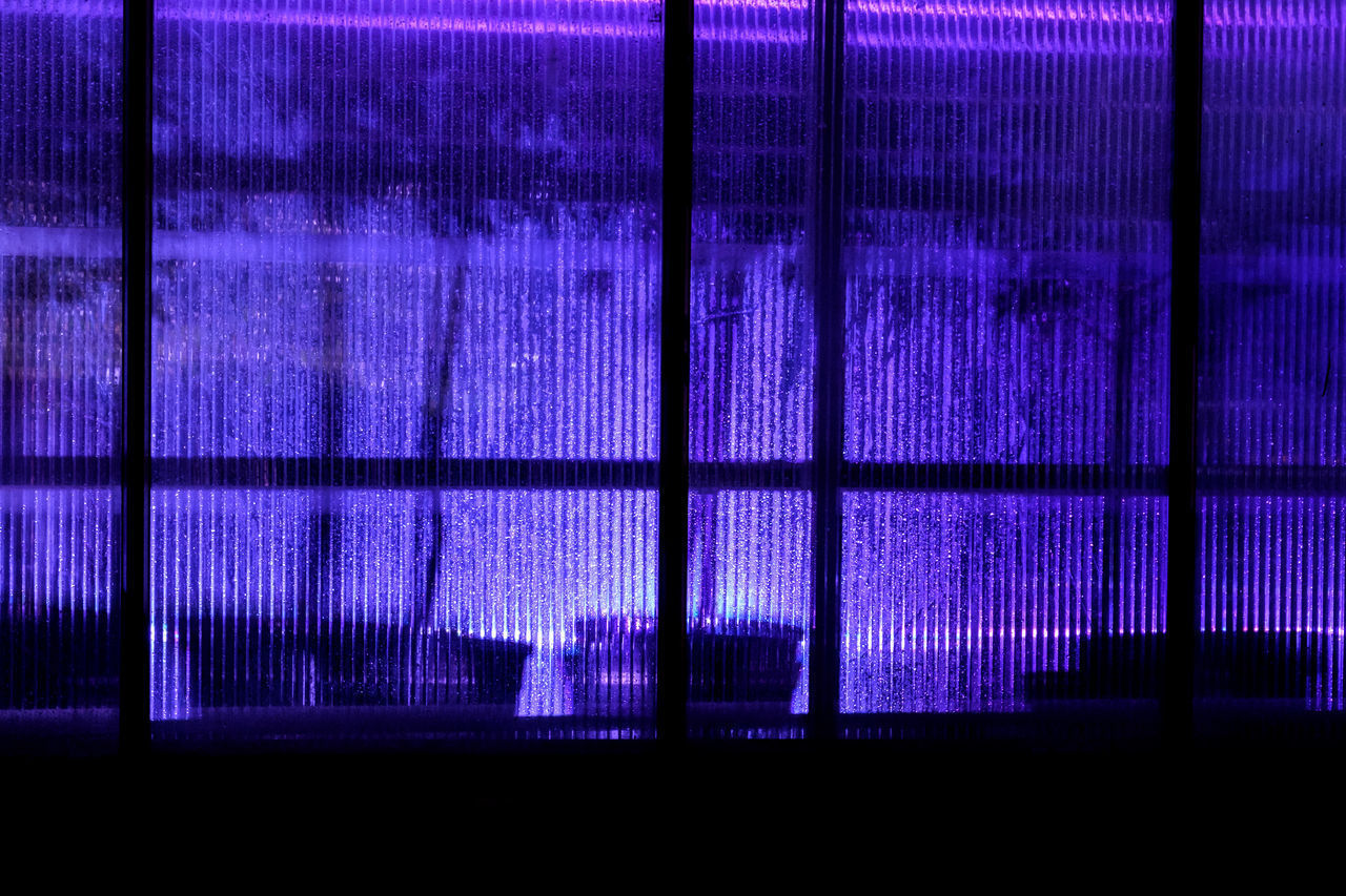 purple, illuminated, backgrounds, pattern, indoors, no people, pink color, technology, night, close-up, pixelated