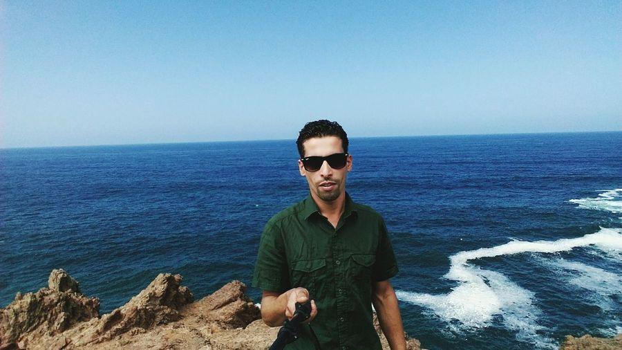 Diver El Masso Selfportrait Keep Calm And Shoot A Foto 📷 Diver El Masso Selfie ✌