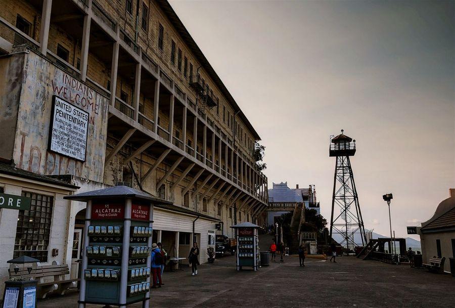 Welcome to The Rock. Alcatraz Prison Urban Decay Penitentiary San Francisco Travel Crime Punishment The Rock Tourist Attraction