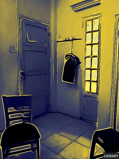 Empty room Lock Door Safety Protection Security