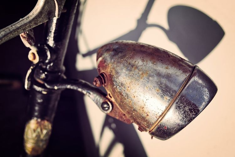 Metal Close-up No People Focus On Foreground Old Transportation Rusty Bicycle Still Life Weathered