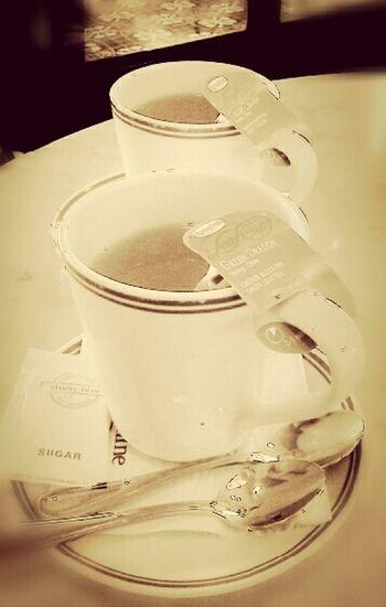 Tea time Hello World Healthydrink