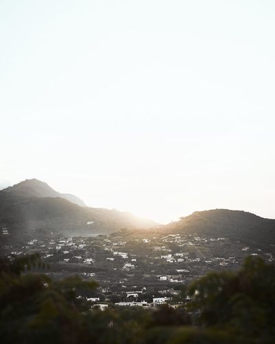 Sunset in Ischia Mountain Copy Space Nature Clear Sky No People Mountain Range Landscape Architecture Building Exterior Outdoors Beauty In Nature Built Structure Day Sky Cityscape Scenics Sunset Ischia Italy Italy🇮🇹 Warmlight Sun Sunlight
