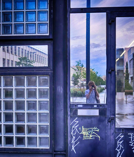 City Life Urban Geometry Architecture Built Structure cityscapes Glass - Material Outdoors Reflection Self Portrait Urbanphotography Window