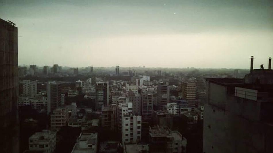 Morning Dhaka Bangladesh Cityscapes Mobile Photography